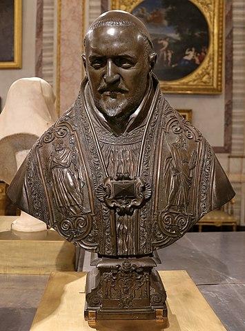 教皇パウルス5世胸像 ベルニーニ コペンハーゲン国立美術館蔵