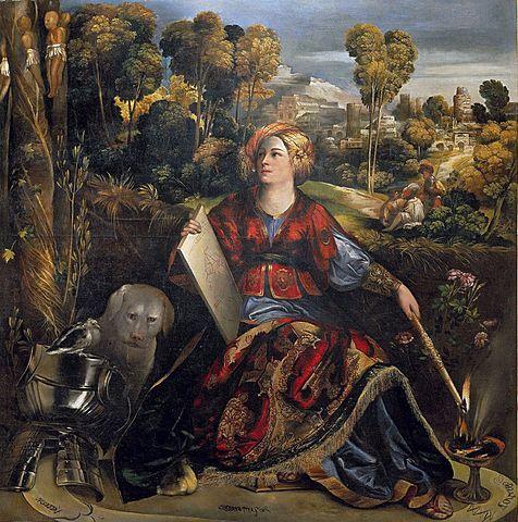 『メリッサ』 ドッソ・ドッシ作 1523年頃
