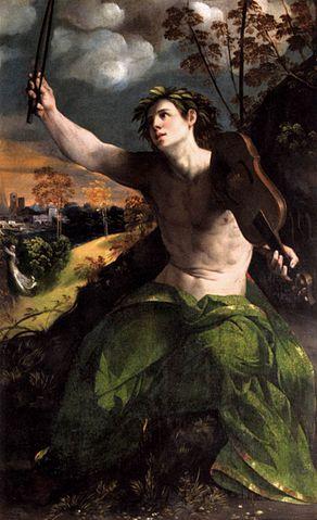 『アポロンとダフネ』 ドッソ・ドッシ 1524年