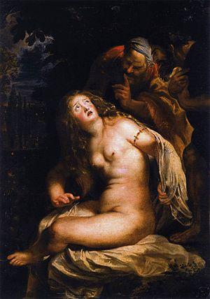 『スザンナと長老たち』 ルーベンス 1607年