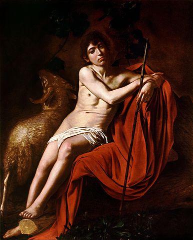 『洗礼者ヨハネ』 1609-1610年頃