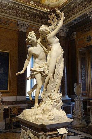 『アポロンとダフネ』 ベルニーニ 1622年ー1625年