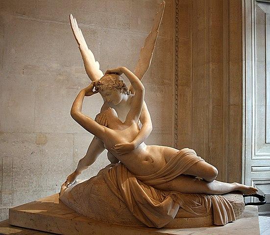 『アモールとプシュケ』 アントニオ・カノ―ヴァ 1793年 ルーヴル美術館蔵