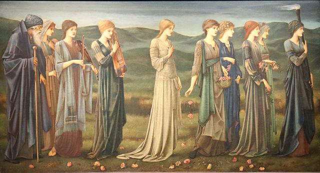 『プシュケーの結婚』 エドワード・バーン=ジョーンズ 1895年 ブリュッセル王立美術館