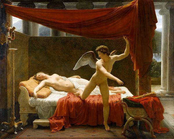 『アムールとプシュケ』 フランソワ=エドゥアール・ピコ  1817年 ルーヴル美術館蔵