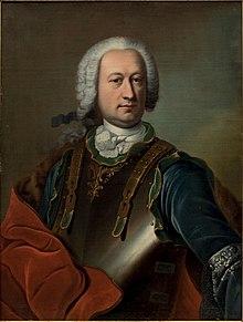 サド侯爵の父、ジャン=バティスト・フランソワ・ジョゼフ・ド・サド伯爵 ナティエ画 1750年頃 個人蔵