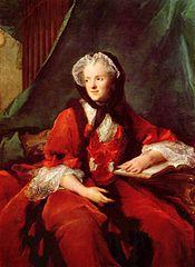 王妃マリー・レクザンスカ ナティエ 1748年 ヴェルサイユ宮殿