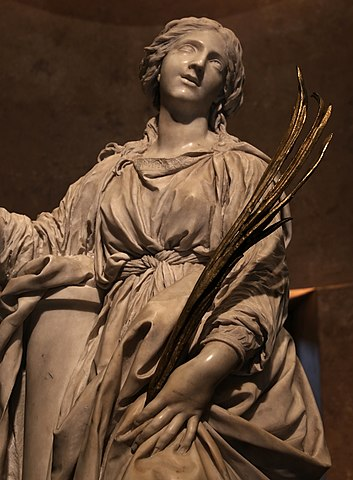 『聖女ビビアーナ像』