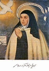 16世紀に描かれた聖テレサ