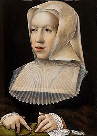 マルグリット・ドートリッシュ  1518年 ベルナールト・ファン・オルレイ画