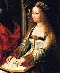 カスティーリャ女王イサベル1世(1451年4月22日 - 1504年11月26日) 1520年頃