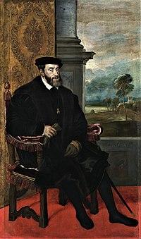 神聖ローマ皇帝カール5世 (1500年2月24日ー1558年9月21日)