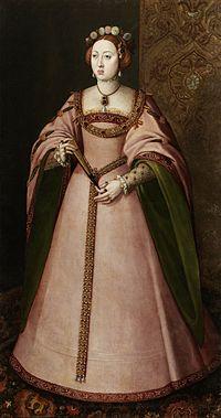 マリア・マヌエラ・デ・ポルトゥガル(1527年10月15日 - 1545年7月12日)