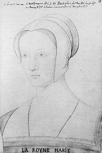 メアリー・テューダー(マリー・ダングルテール)(1496年3月18日 - 1533年6月25日)