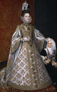 イサベル・クララ・エウヘニア・デ・アウストリア(1566年8月12日 - 1633年12月1日)