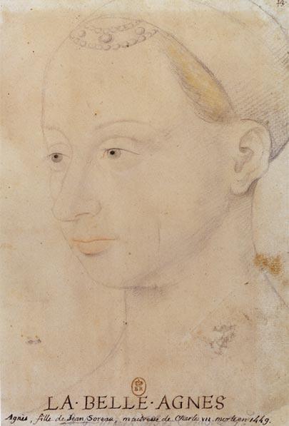アニェス・ソレル 16世紀 After ジャン・フーケ