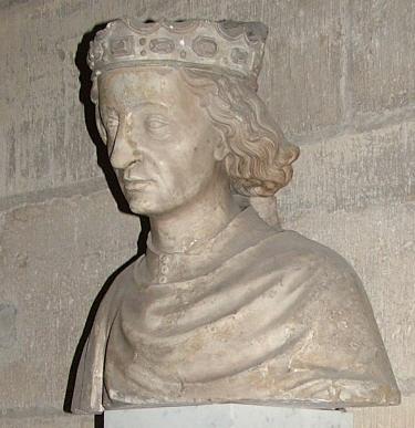 シャルル7世 サン・ドニ修道院の墓碑彫刻