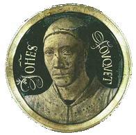 メダルの自画像 1452-1458頃 ルーヴル美術館蔵