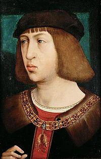 ブルゴーニュ公フィリップ4世(フィリップ美公)(1478年7月22日 - 1506年9月25日) 1500年頃 美術史美術館蔵