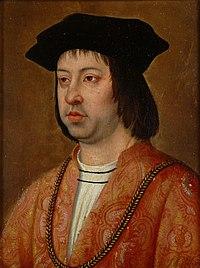 アラゴン王フェルナンド2世 (1452年3月10日ー1516年6月23日) ミケル・シトウ画