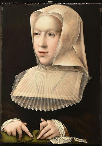 マルグリット・ドートリッシュ(1480年1月10日ー1530年12月1日) ベルナールト・ファン・オルレイ画 16世紀