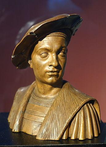 サヴォイア公フィリベルト2世の胸像