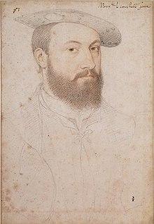 アンヌ・ド・モンモランシー 1530年頃 ジャン・クルーエ コンデ美術館蔵