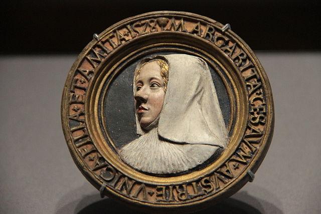 マルグリット・ドートリッシュの肖像 1550年頃 コンラート・マイト