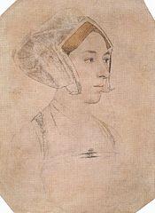 アン・ブーリン 1532年から1533年の間 ハンス・ホルバイン(子)