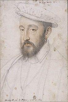 人質になった王子(後のアンリ2世) 1553年 フランソワ・クルーエ フランス国立図書簡
