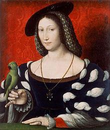 マルグリット・ド・ナヴァル(1492年4月11日 - 1549年12月21日) 1527年 ジャン・クルーエ ウォーカー・アート・ギャラリー蔵