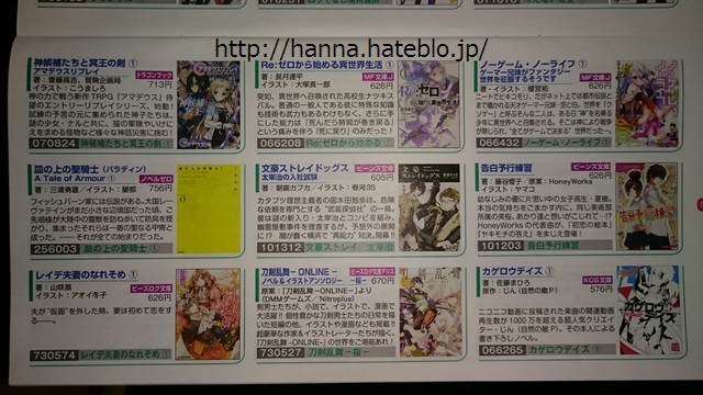 カドカワ株主優待ラノベ2