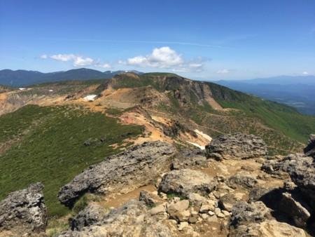 安達太良山、山頂 - hantubojinu...