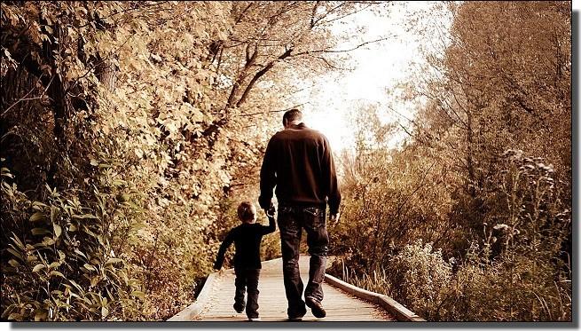 父親の背中