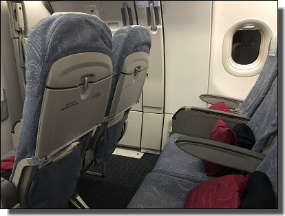 座席の画像