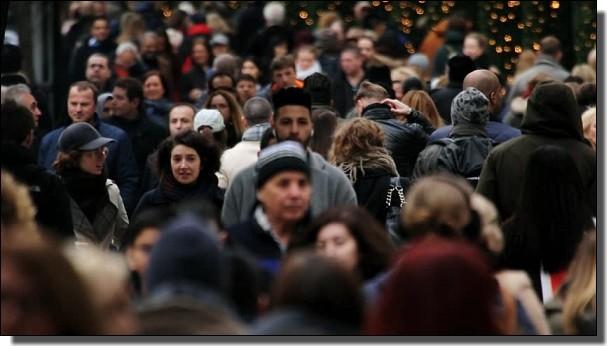 ロンドンは人種のるつぼ