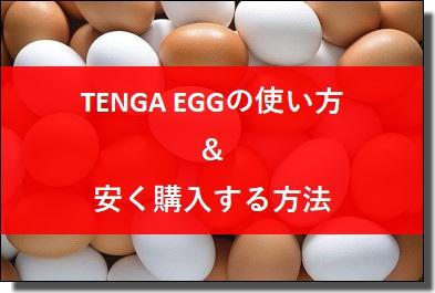 TENGA EGGの使い方