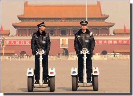 中国テロ対策警備