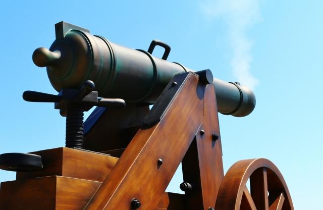 大砲 効果音 フリー素材