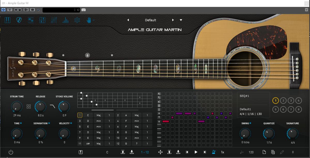 アコースティックギター,アコギ,AmpleGuitar,フリー音楽