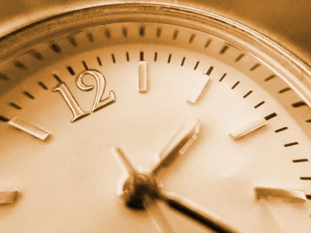カウントダウン効果音フリー素材、時計