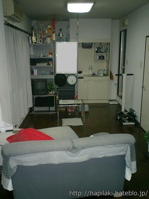 断捨離前の部屋:リビング側