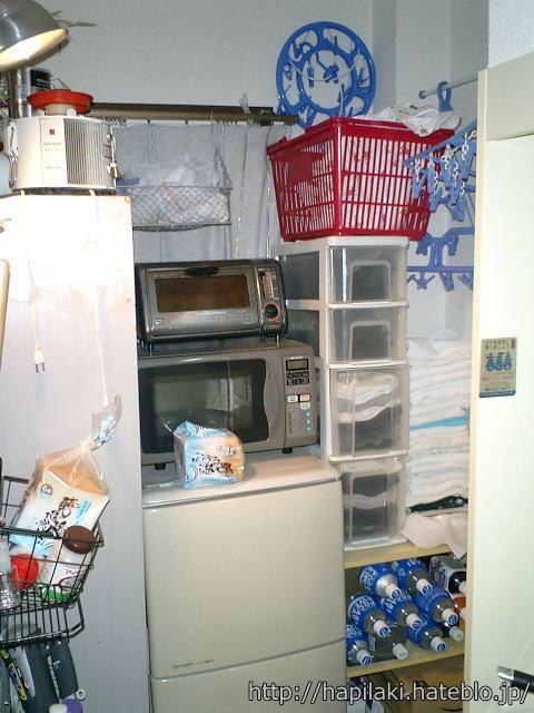 隠す収納だったキッチン