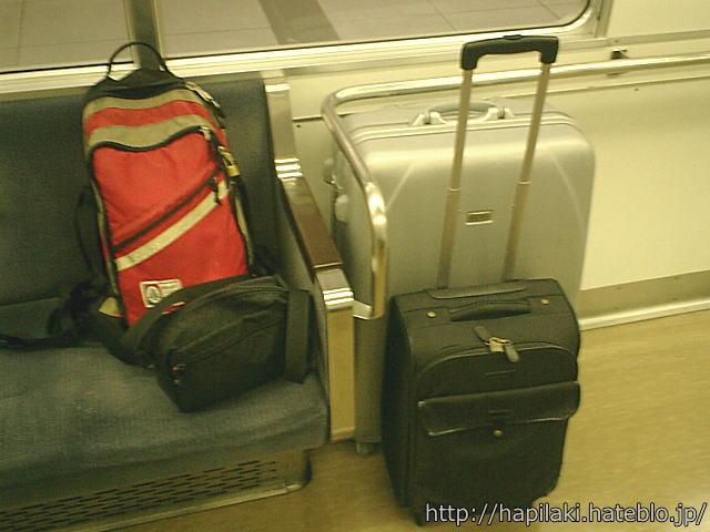 海外旅行の持ち物が多い