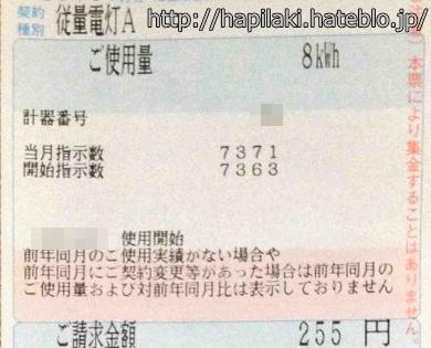 電気料金300円以下