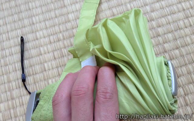 軽量コンパクトな折り畳み傘7