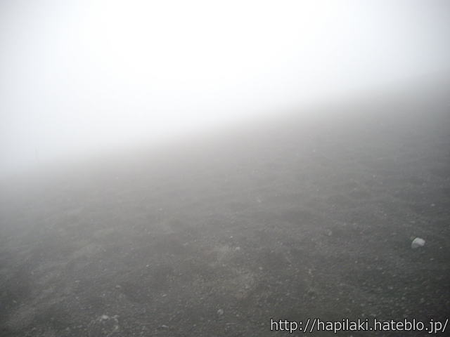富士山砂走り