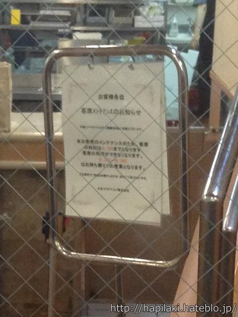 東京上野駅周辺のマクドナルドの立て看板