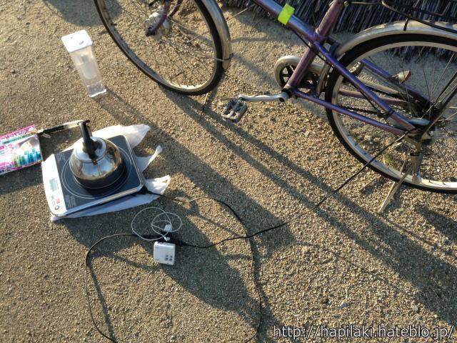 自転車発電で電力供給できる具体例