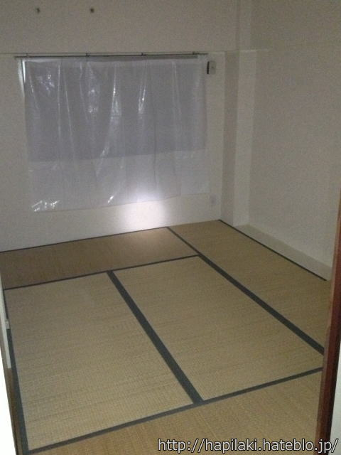 何もない六畳の部屋